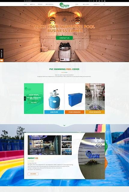 广州市芬林泳池桑拿设备有限公司